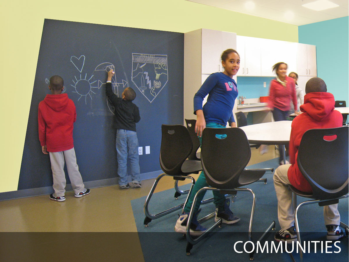 Communities, renovation, planning space for the public