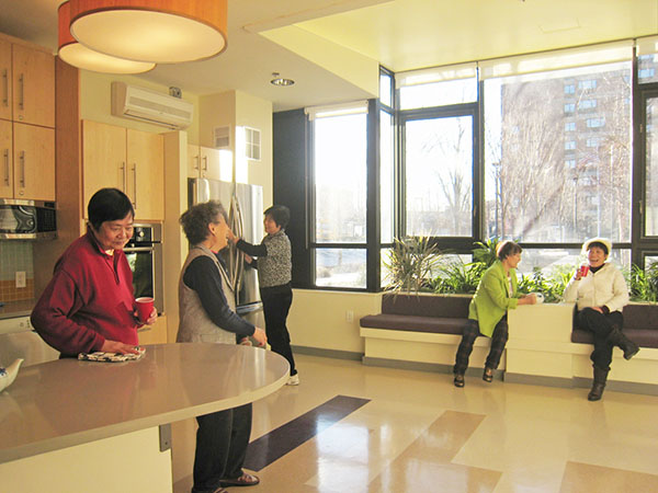 Flynn Kitchen Non-Profit Senior Center
