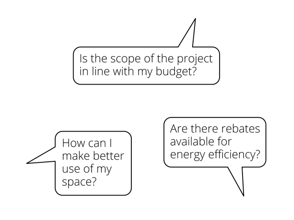 Schematic design- feasibility studies
