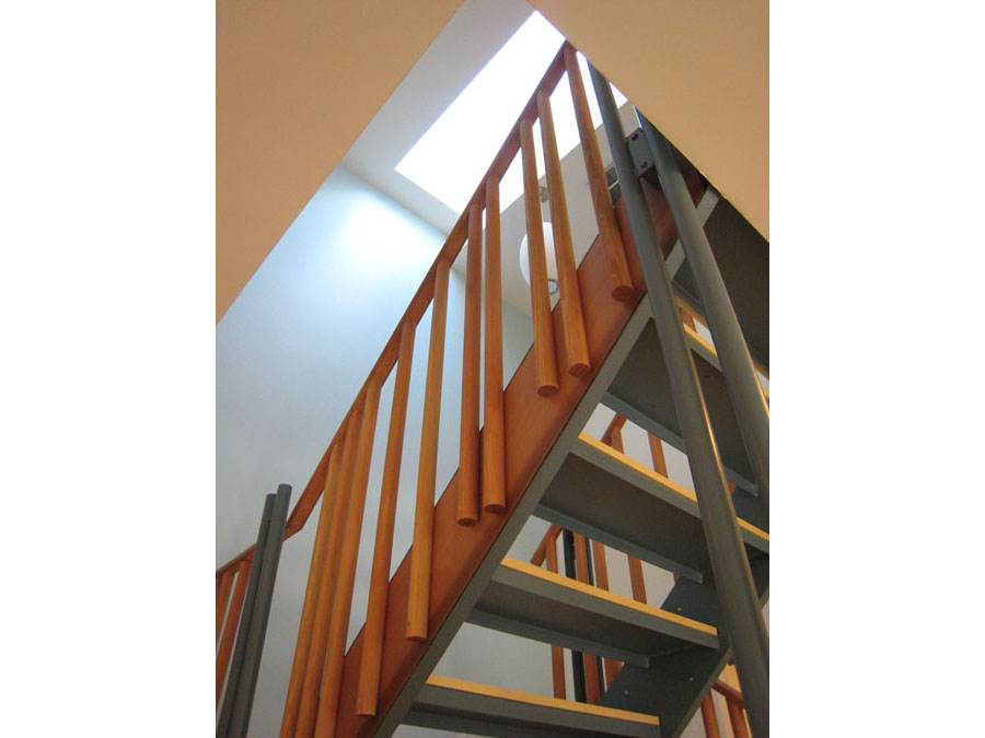 Holworthy Place stairway skylight.