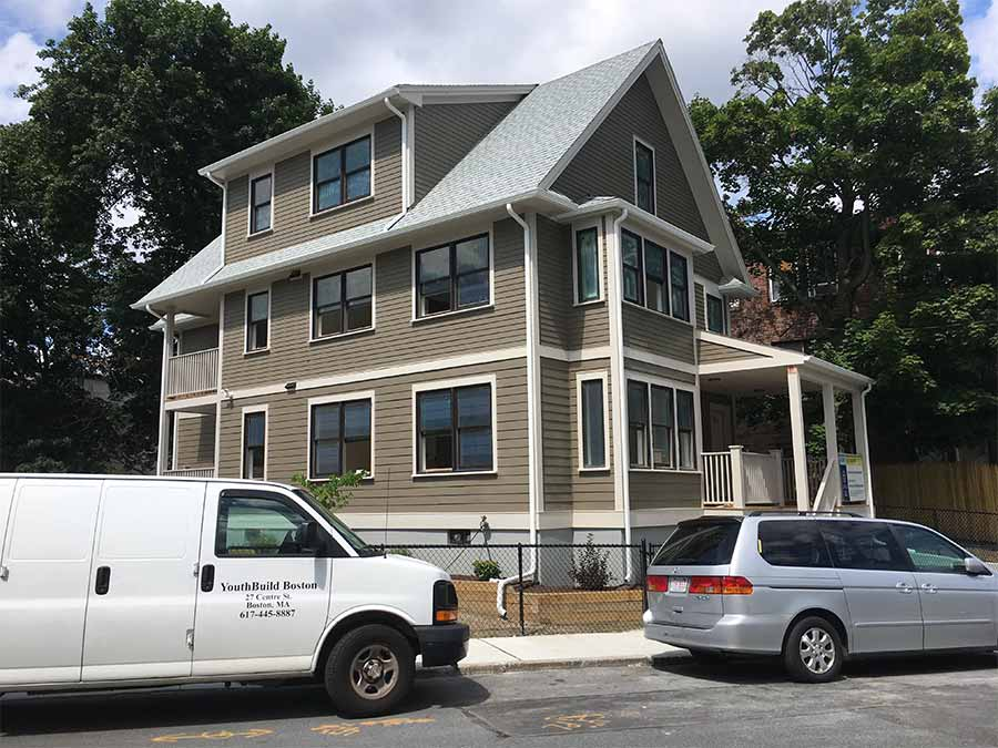 New Construction Housing for Lawrence Youthbuild