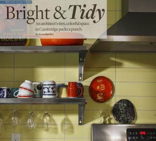 Boston Globe Magazine - Bright and Tidy