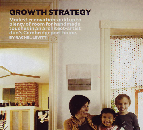 "Boston Magazine article ""Growth Strategy"""