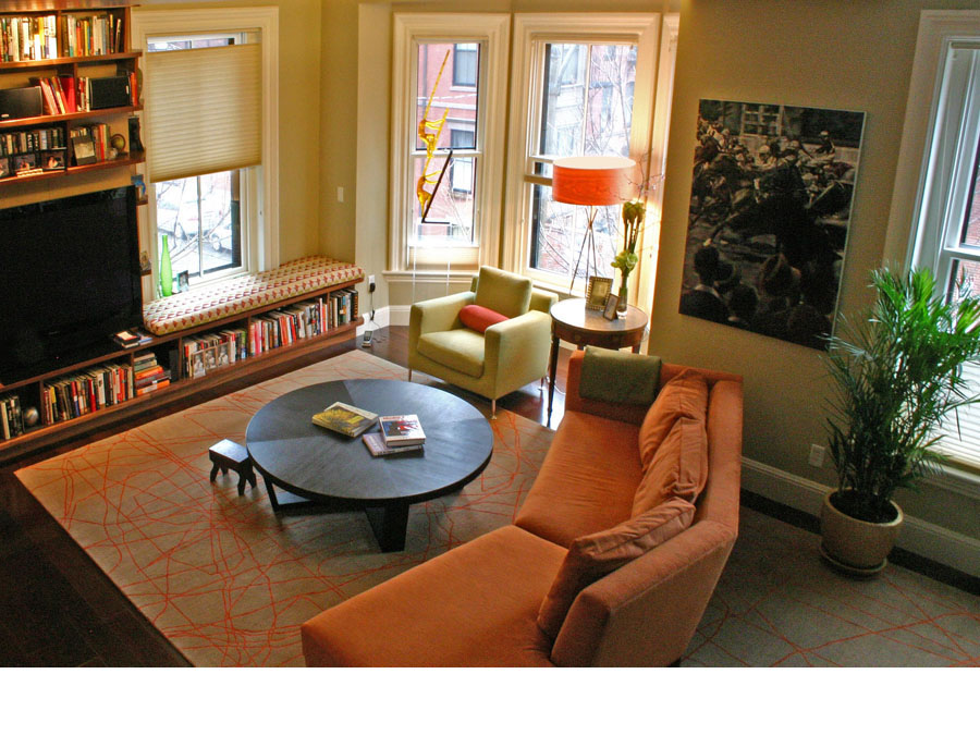 Historic home restoration improves natural light in the Back Bay town house.