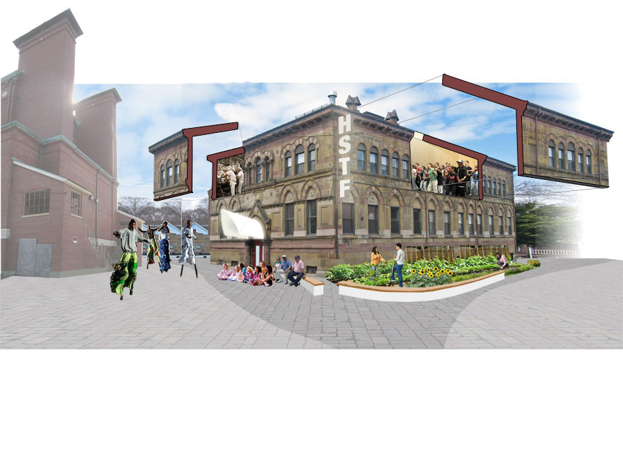 The community design for the Hyde Square Task Force.