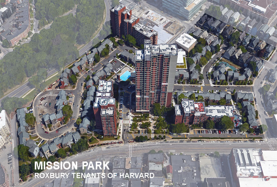 Mission Park aerial view.