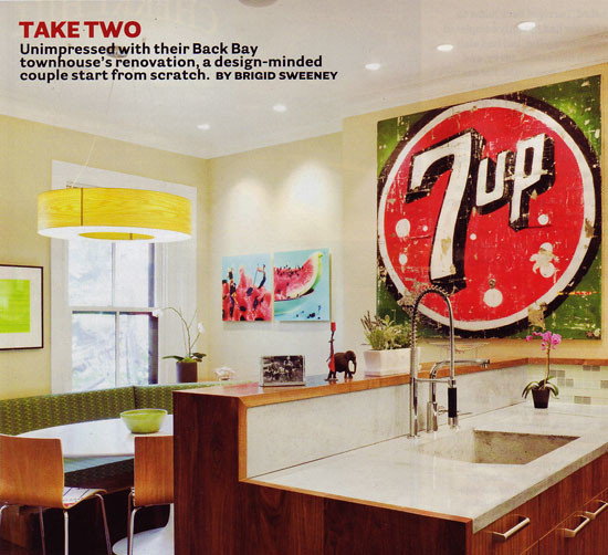 Boston Magazine article: Take Two