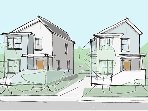 Affordable homes for urban infill housing