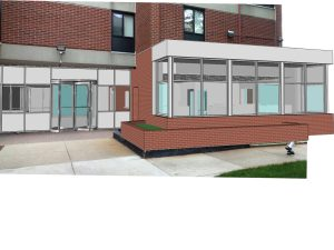Boston non-profit office exterior design