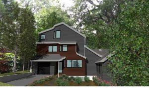 Boston Green Home Design rendering