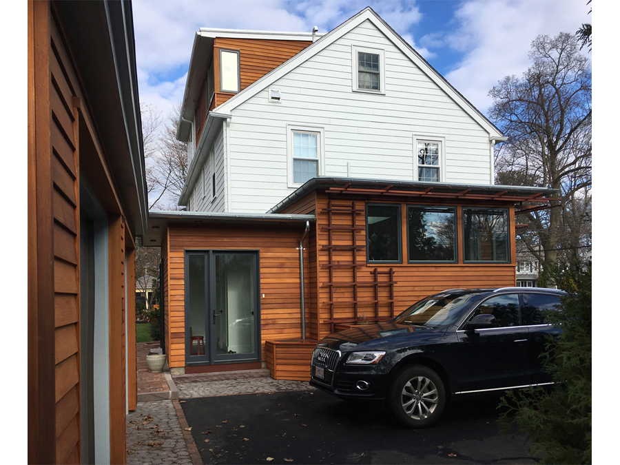 Sustainable renovation of boston green home.