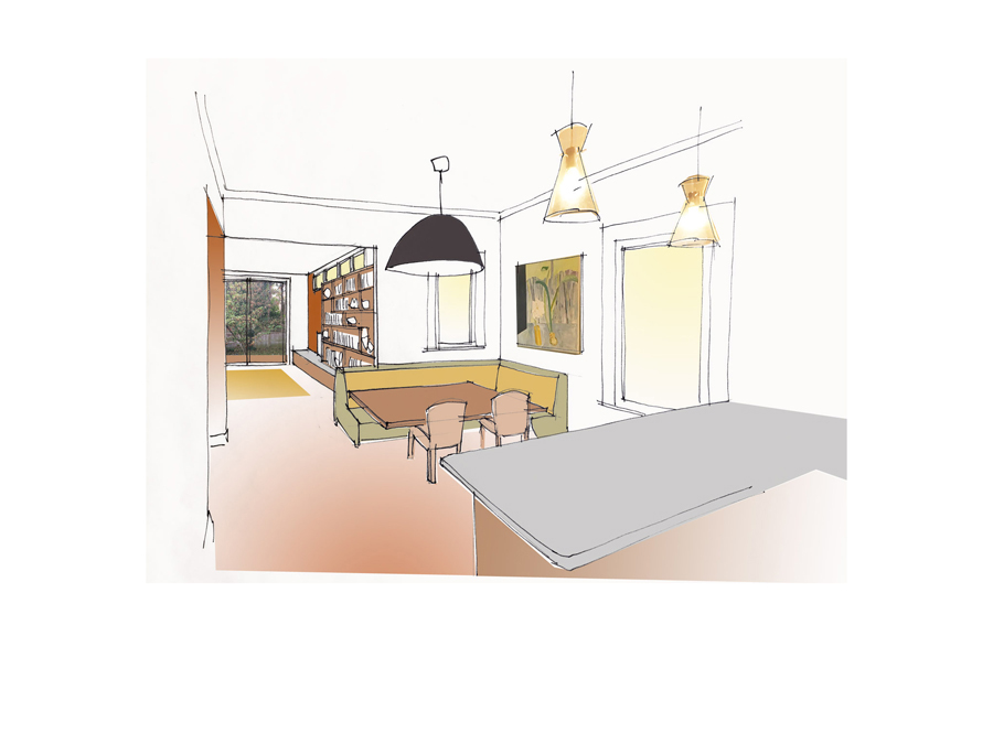 Cambridge dining area design