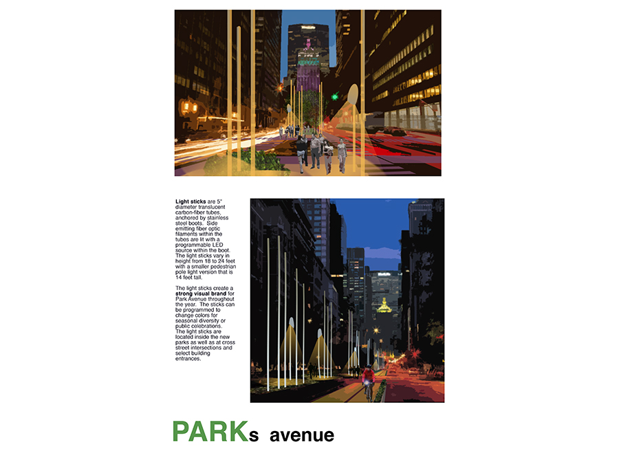 Park Ave Design competition submission