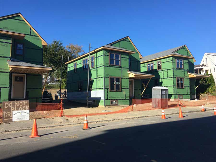 Lawrence Community Works affordable housing construction progress
