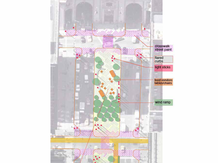 PARKs Avenue centerline competition concept plan