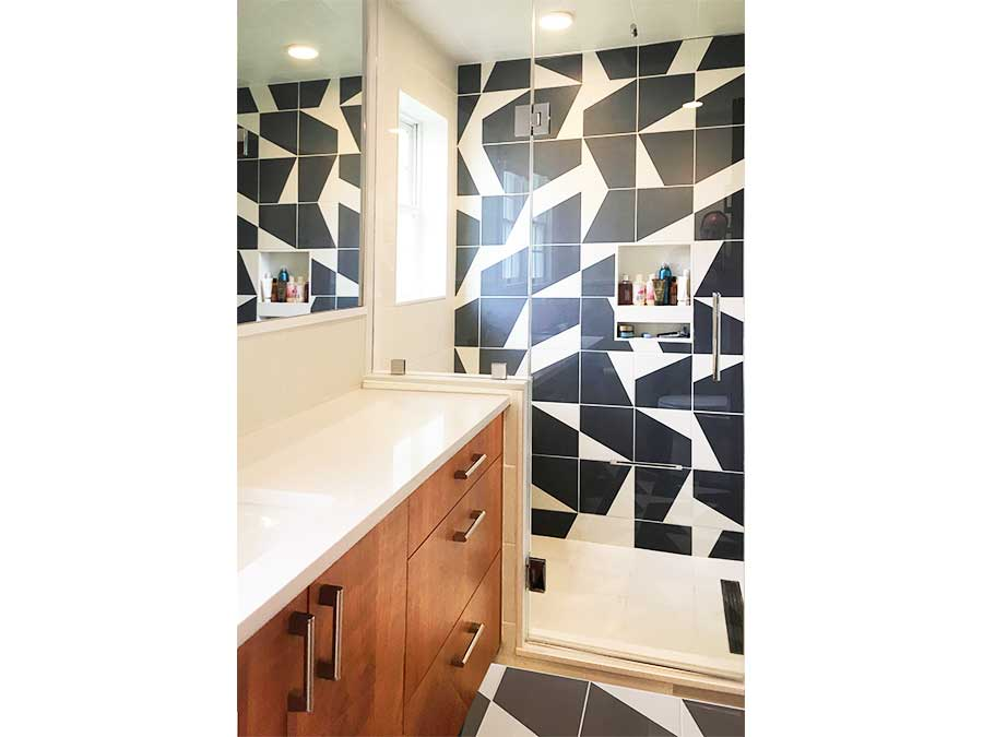 Newton bathroom renovation