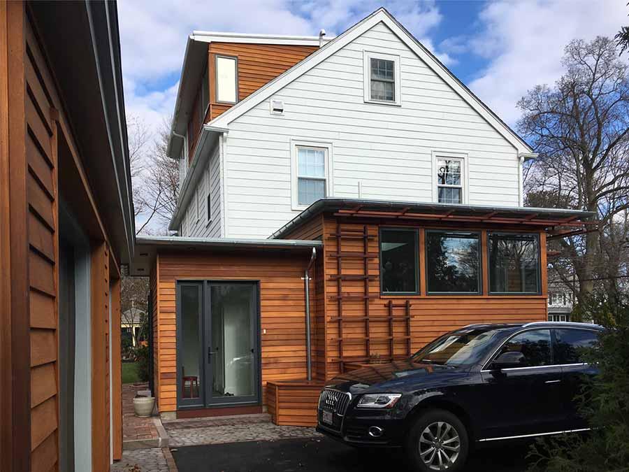Newton exterior facade renovation