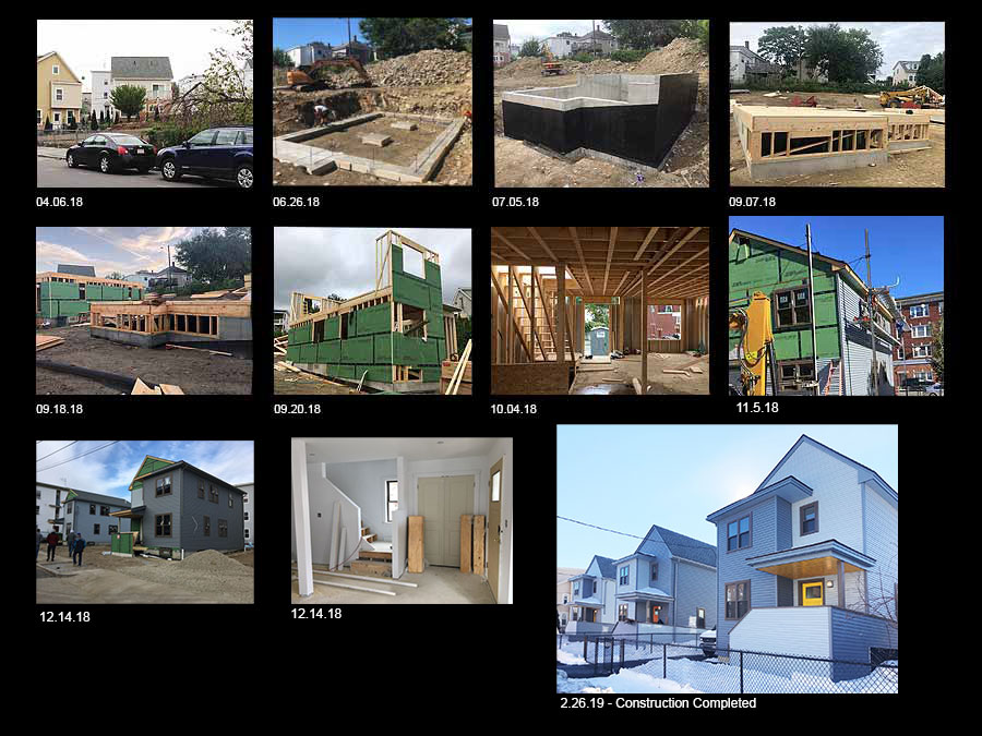 Union Milford Housing construction phases