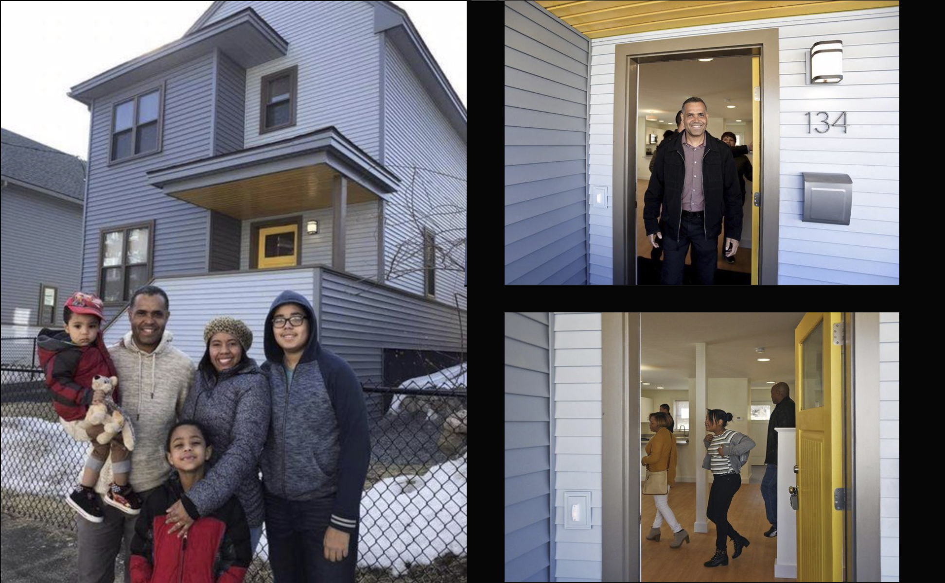 Lawrence Community Works affordable housing finished construction